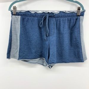 NEW Anthropologie Cloth & Stone Denim Terry Shorts